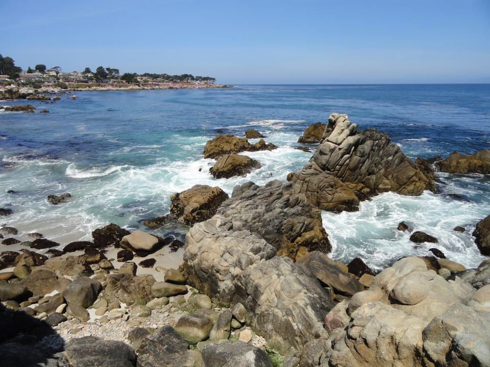 Free Lovers Point Park, Pacific Grove, California