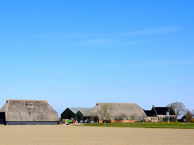 Free Photos: Netherlands landscape scenic sky clouds farm barn | David Mark