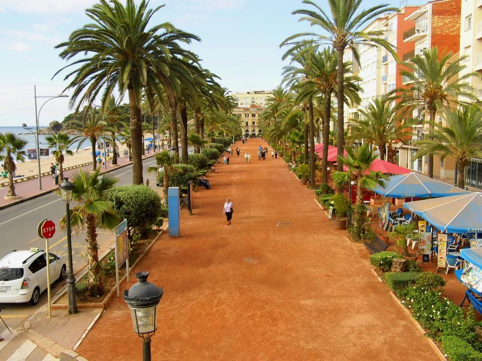Free Photos: Seafront of Lloret de Mar Costa Brava Spain | eurosnap