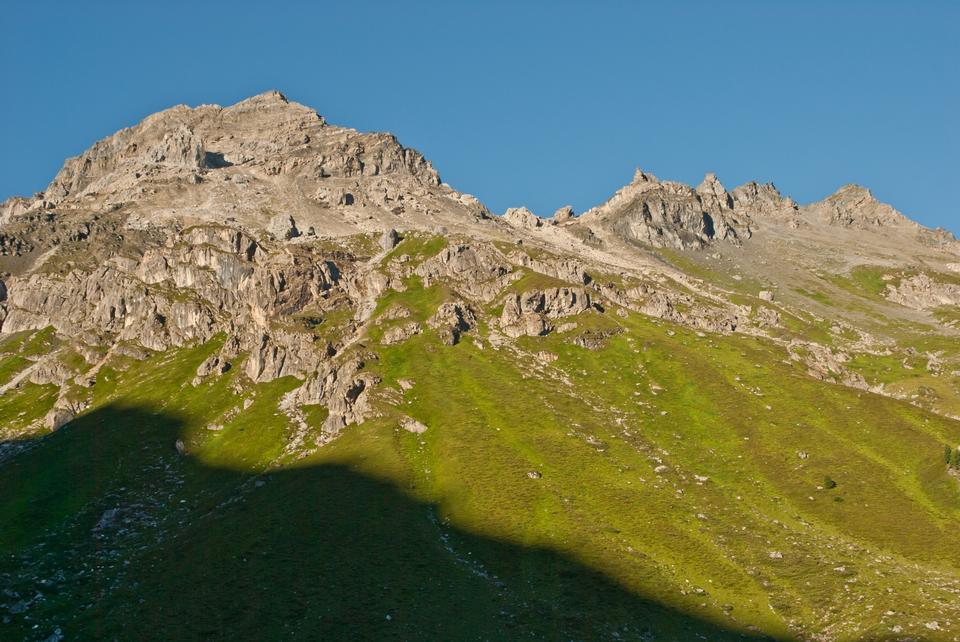Free Small mountain lake on the Salfeins near Innsbruck