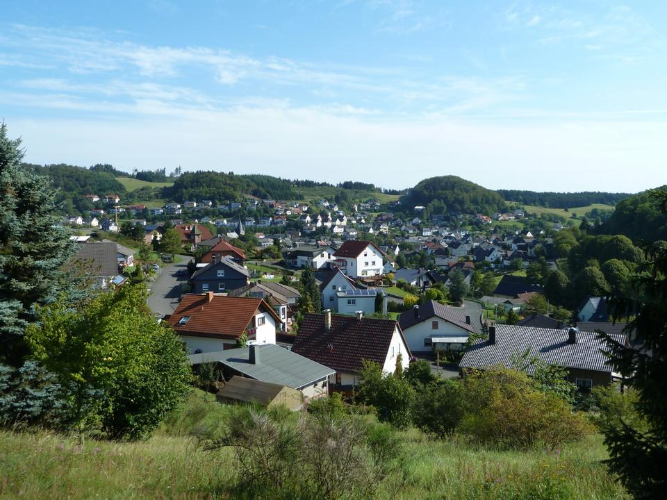 Free Angelburg Middle Hesse in Germany