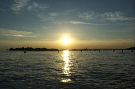 Free Giudecca Lido area with the background. Venice