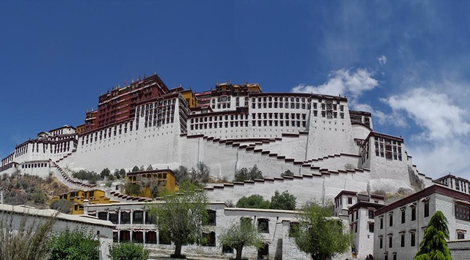 Free Potala Palace in Lhasa, China