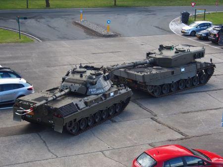 Free Leopard 2A4 on  Cavalerie museum, Amersfoort Netherlands