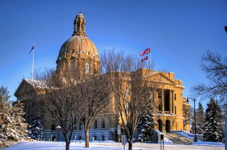Free The Alberta Legislature Building