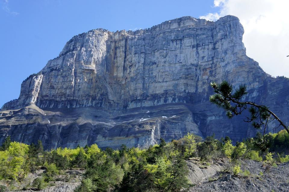 Free Cliff of Granier in Savoie