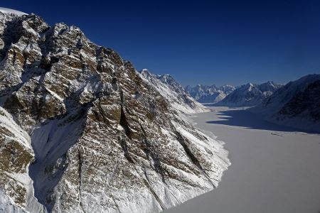 Free Fjord in East Greenland
