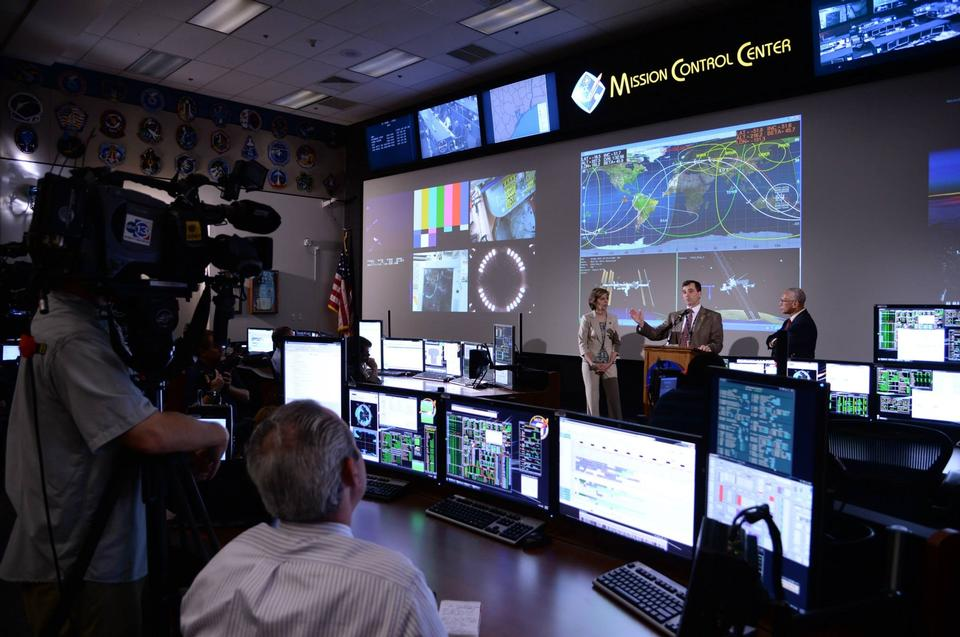 Free Flight Control Room for NASA's Orion Spacecraft