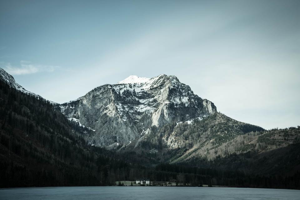 Free Laudachsee in Salzkammergut Austria