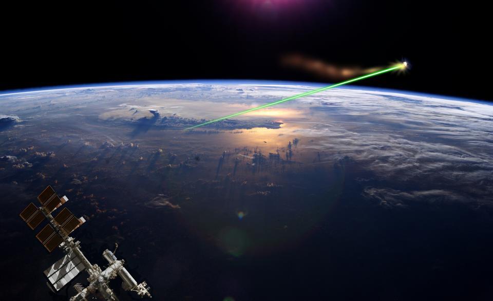 Free Artistic interpretation of the Laser broom