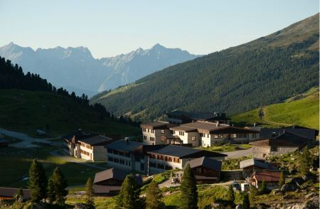 Free Village at the karwendel mountain
