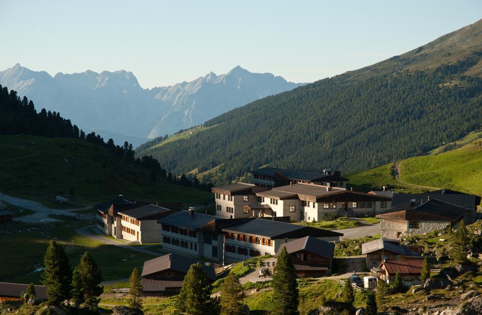Free Village at the karwendel mountain