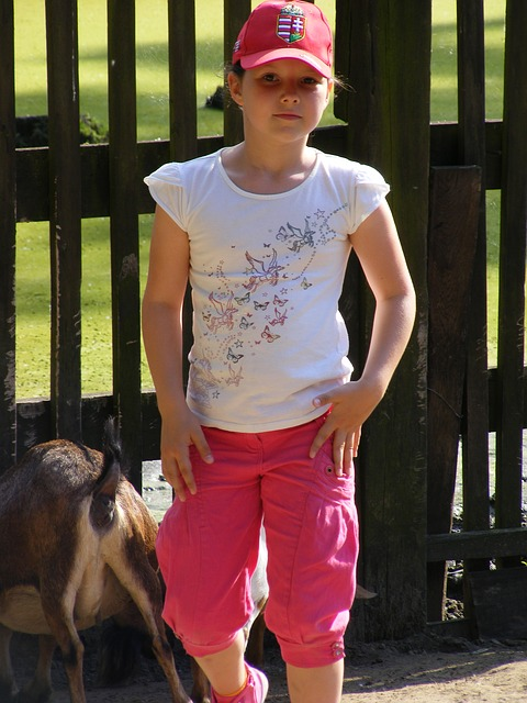 Free little girl girl serious child