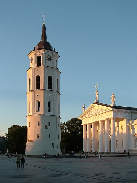Free lithuania vilnius cathedral city historically