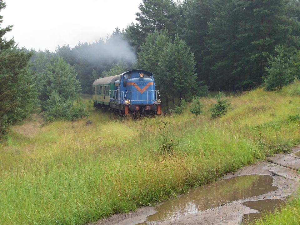 Free Tourist train Poland