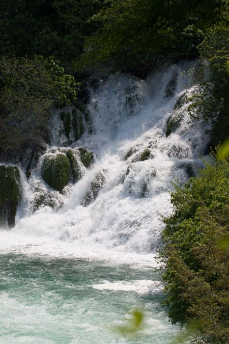 Free Krka Waterfall National Park in Croatia