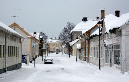 Free Winter Raahe Town in Finland