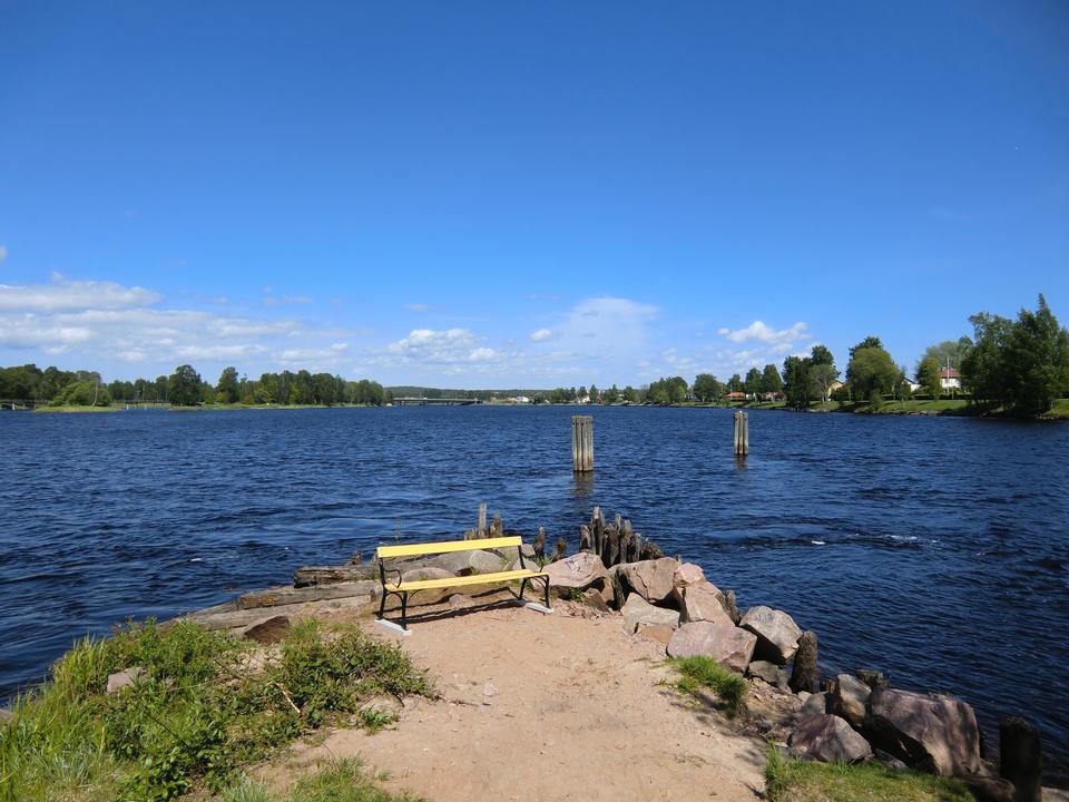 Free Karlstad city with river klaralven running through