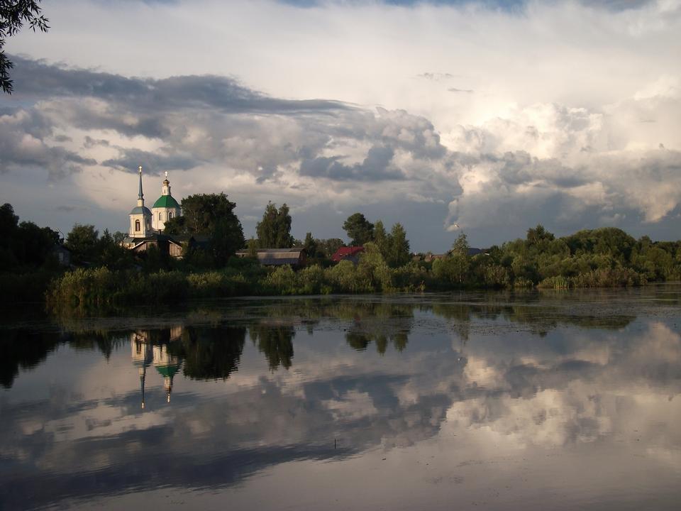 Free Kiovo Lake in Lobnya, Moskovskaya Russia