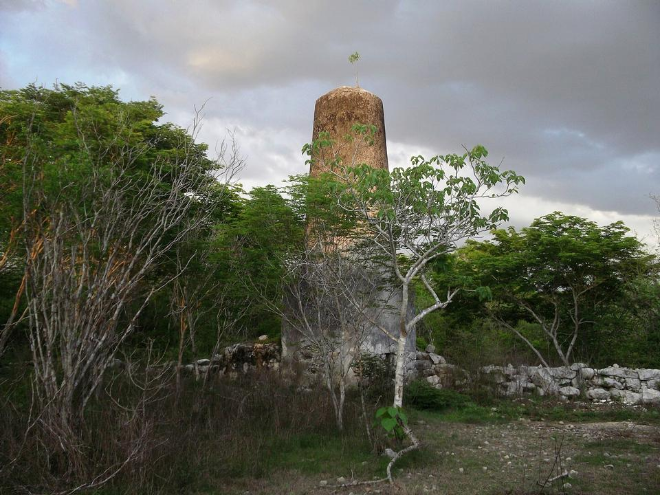 Free Kintunich archaeological site in Yucatan, Mexico