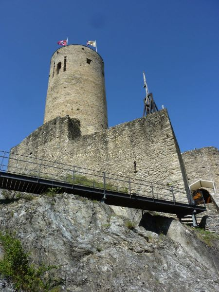 Free Martigny - Ancient castle with cylindrical tower