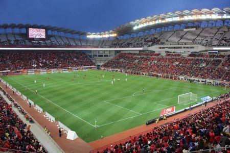 Free Kashima Soccer Stadium in Japan