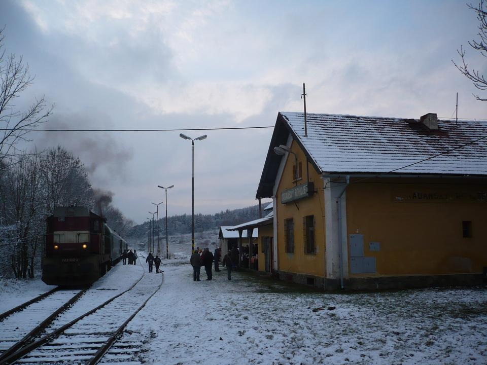 Free Railway station in the small village in Czech