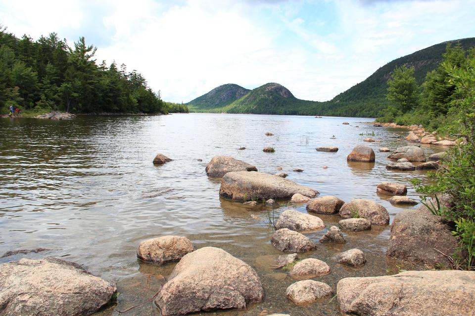 Free Jordan Pond in Acadia National Park