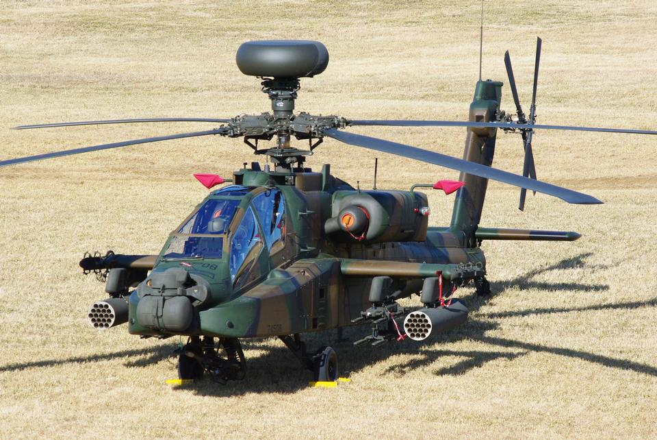 Free Boeing AH-64 Apache Attack helicopter
