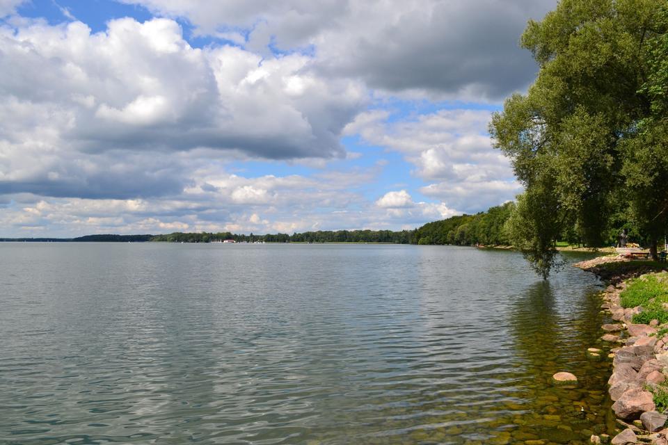 Free Drawsko  Lake in Poland
