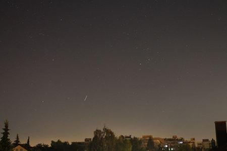 Free Night sky with Taurus constellation