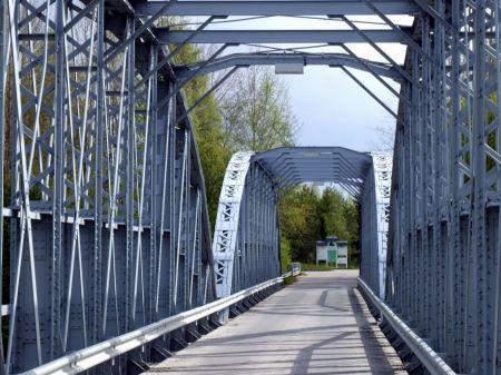 Free Steel bridge for people