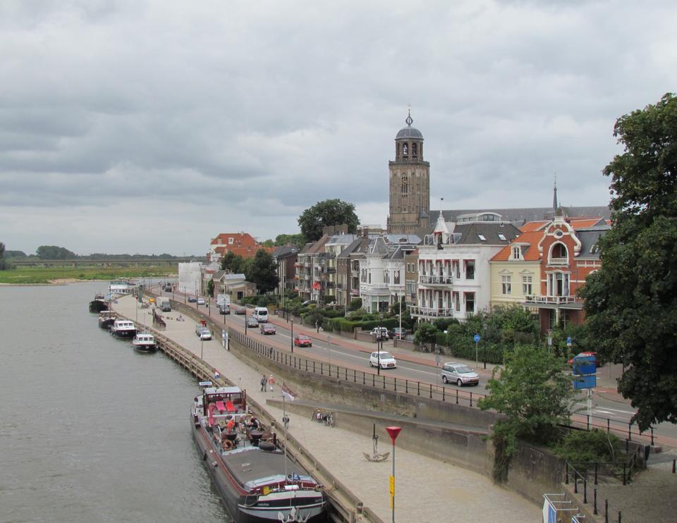 Free Deventer and IJssel river Netherlands