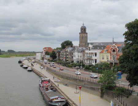 Free Deventer and IJssel river Netherlands