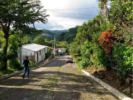 Free The colonial village on El Salvador