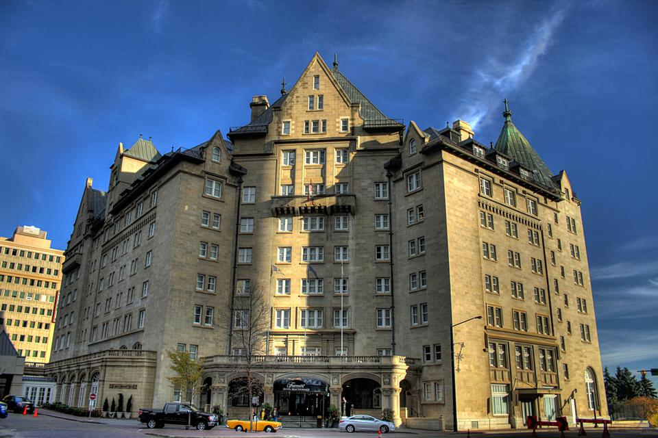 Free Hotel Macdonald in downtown Edmonton