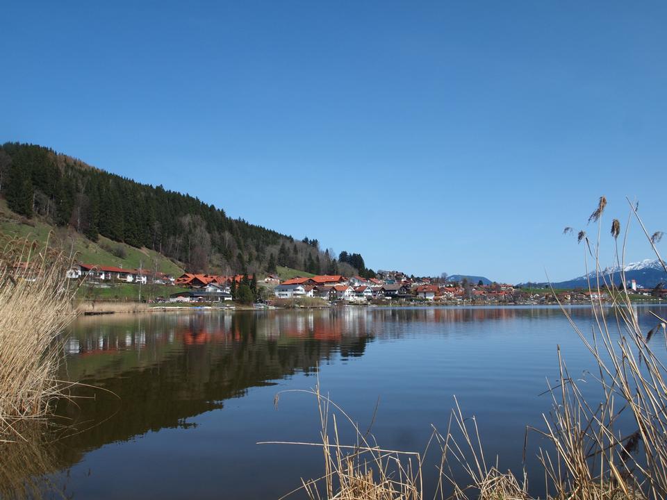 Free Village of Hopfen am See at Lake Hopfensee,Bavaria