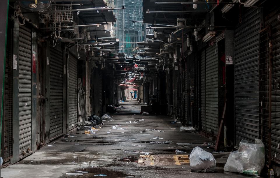 Free Hongkong Back street