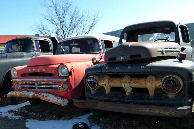 Free old rusty cars automobile oldsmobile corrosion
