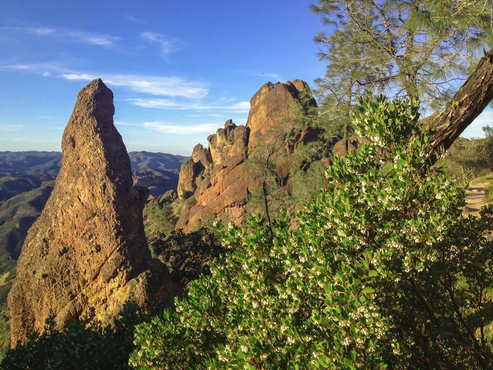 Free High Peaks Trail of Pinnacles National Park