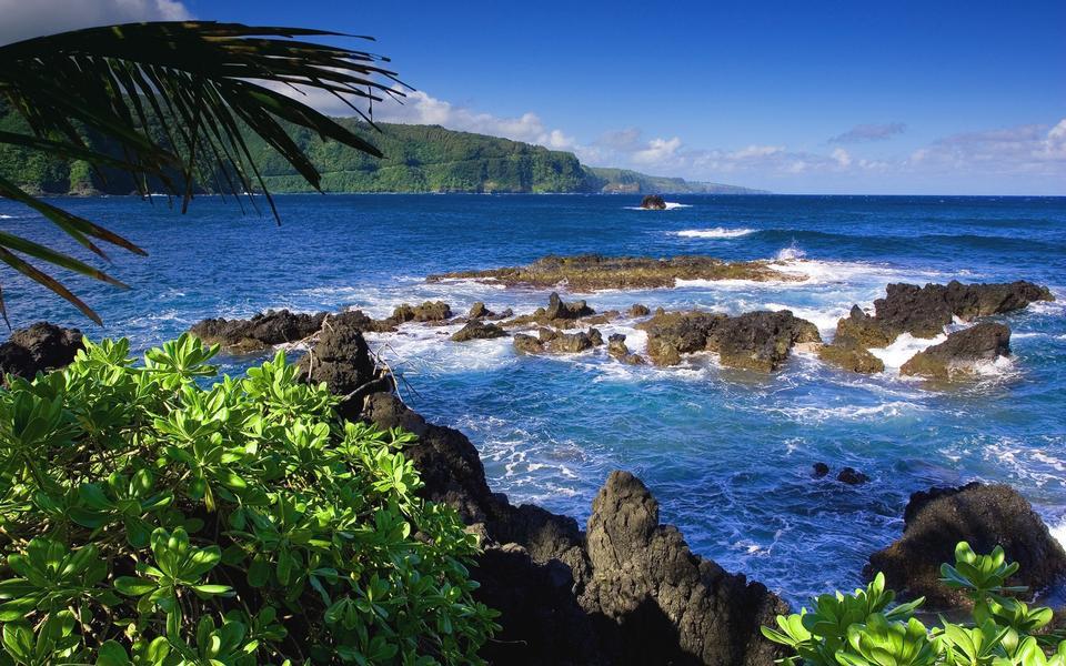 Free Makena Beach, in Maui, Hawaii