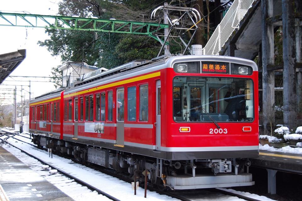 Free The train of Hakone Tozan Line