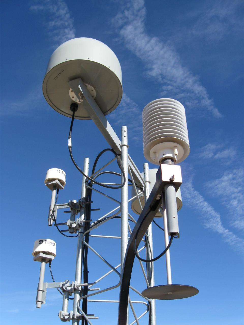 Free Cell Phone Tower against Blue Sky