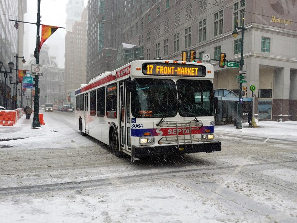 Free Bus Public Transport Philadelphia Pennsylvania