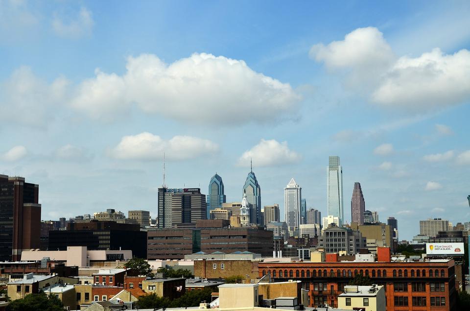 Free Skyline Philadelphia Pennsylvania