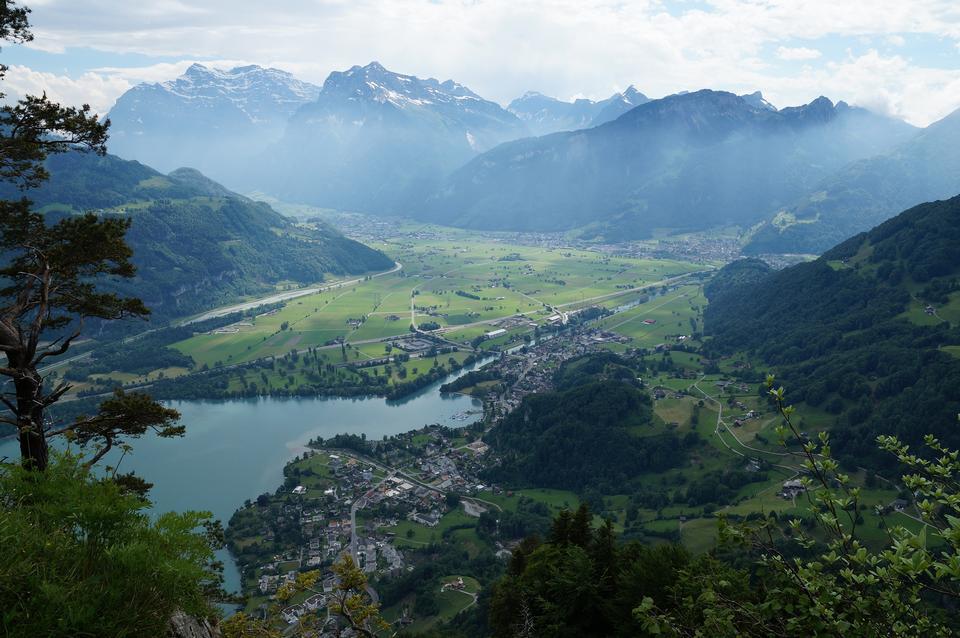 Free Linthebene in eastern Switzerland
