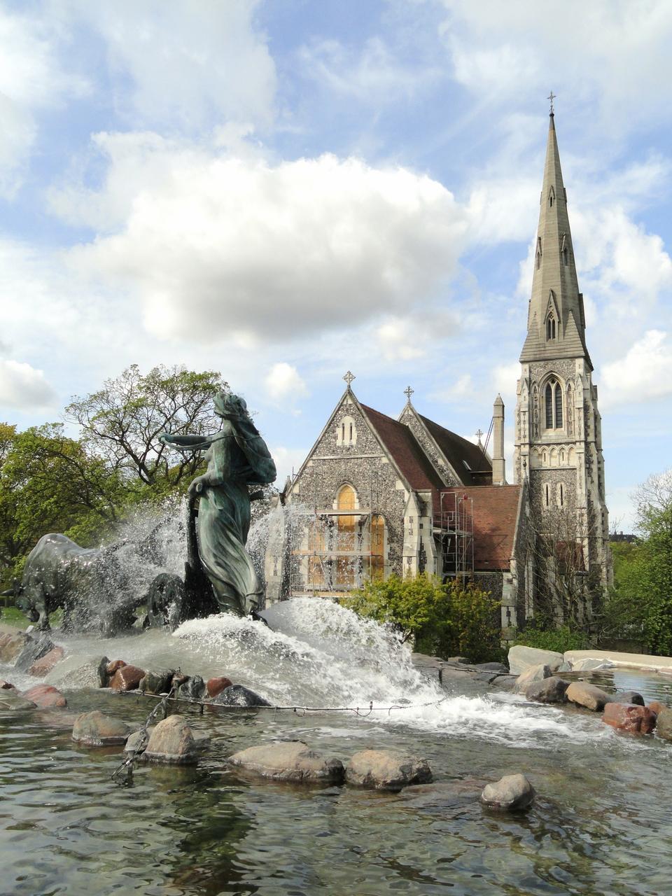 Free Gefion Fountain Copenhagen - Denmark