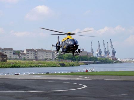 Free police helicopter Eurocopter