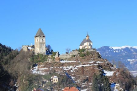 Free Castle and church on St.Peters mountain