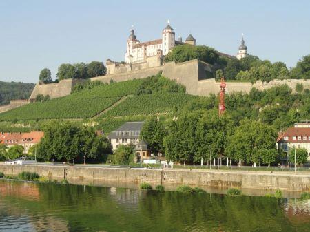 Free Marienberg Fortress in Wurzburg Germany